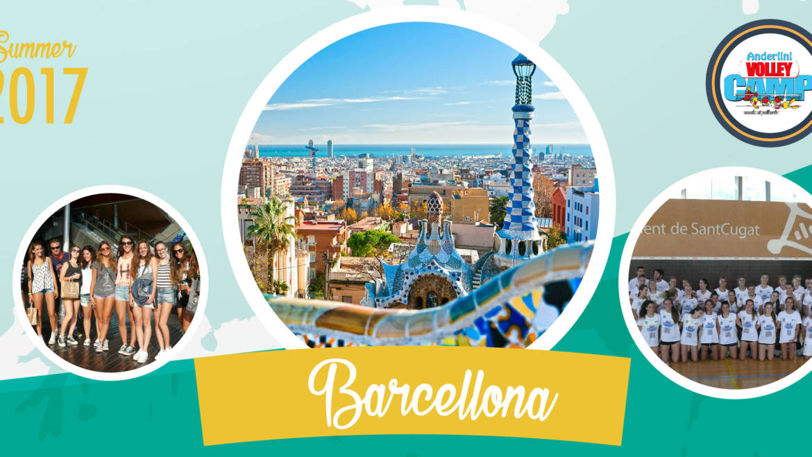 Barcellona: una settimana tra volley, mare, beach volley e turismo!
