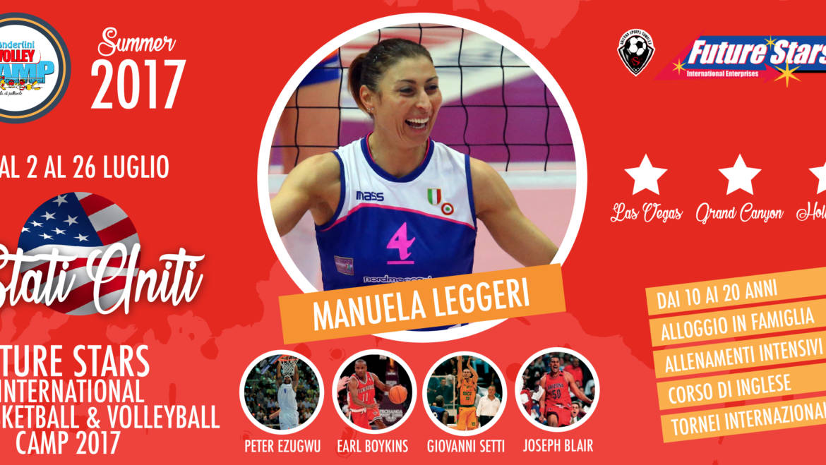 L'Anderlini Volley Camp vola negli Stati Uniti!