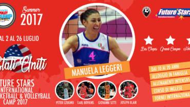 L'Anderlini Volley Camp vola negli Stati Uniti!