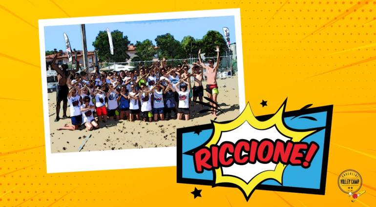 RICCIONE: DUE SETTIMANE DI BEACH VOLLEY, MARE E SOLE!