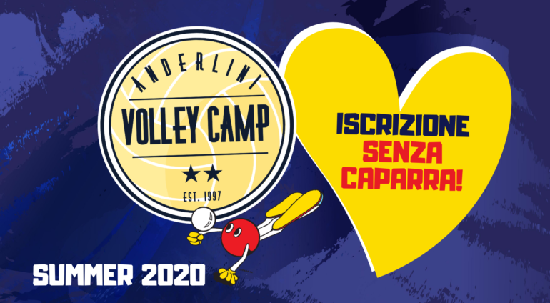 ANDERLINI VOLLEY CAMP: DA OGGI ISCRIZIONI SENZA CAPARRA